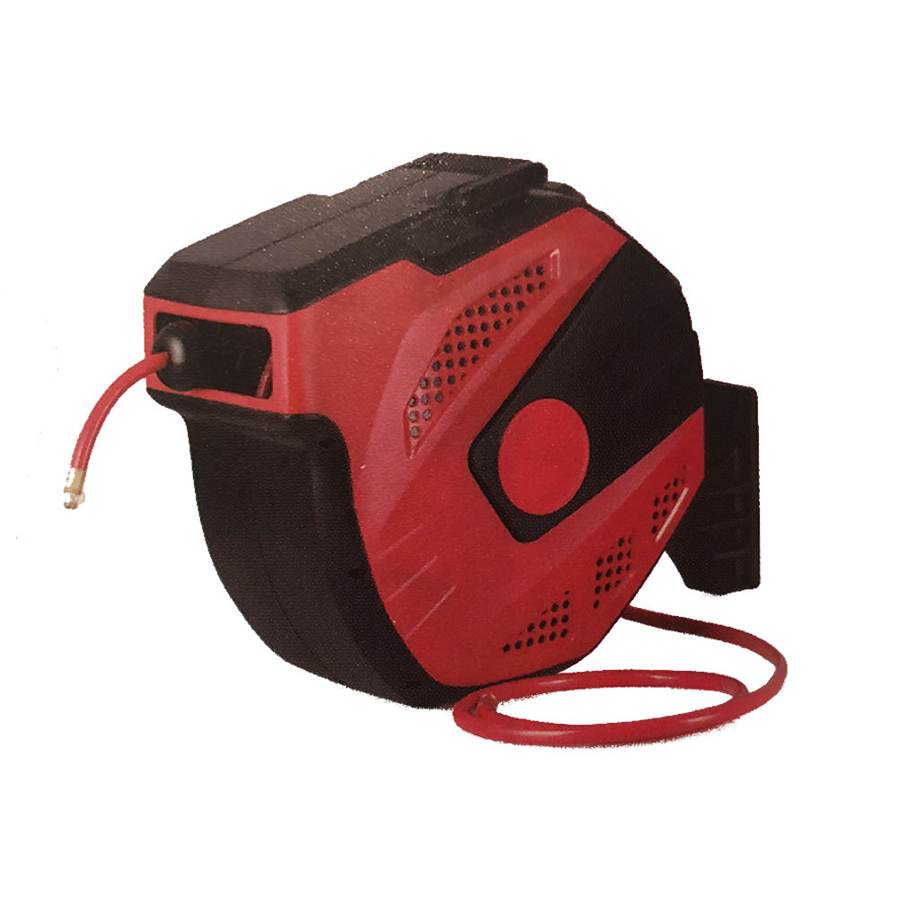 Big Red Retractable Air Hose Reel. In Stock October 18