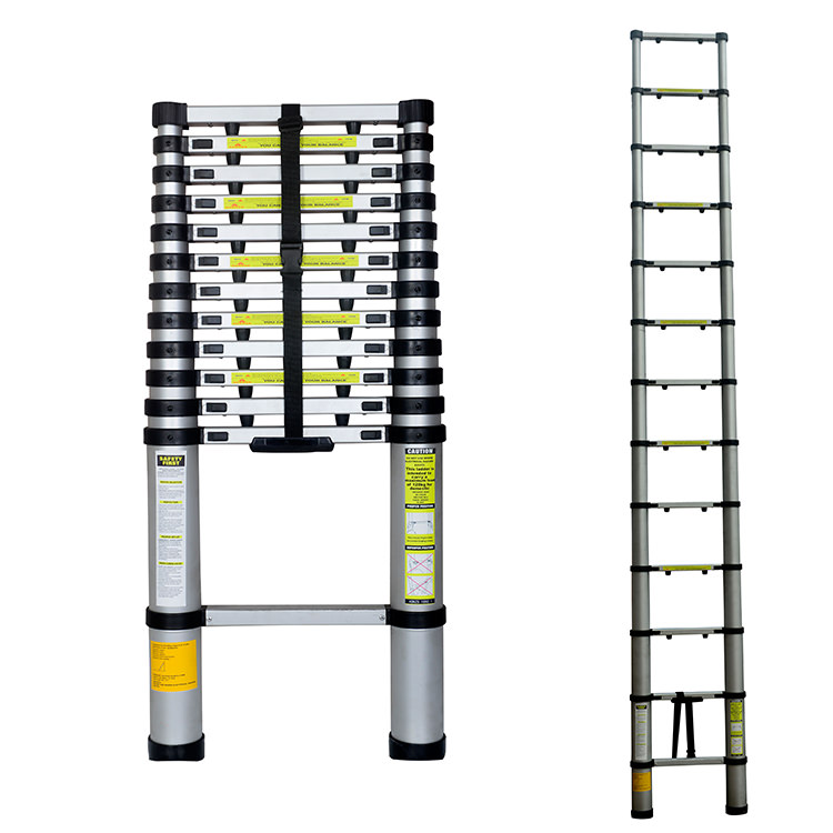 3.8M Telescopic Extension Ladder. Everyone Needs One!