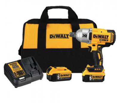 DeWalt 3/4 R/Gun,Charger,9ah Battery,Carry Bag, 32/33 Socket