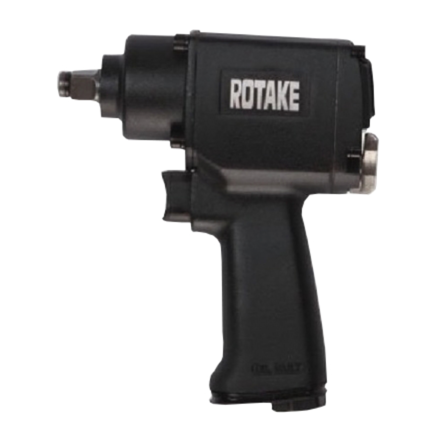Rotake H/D 3/8 Drive Air Rattle Gun HiTorque 385 ft lb.