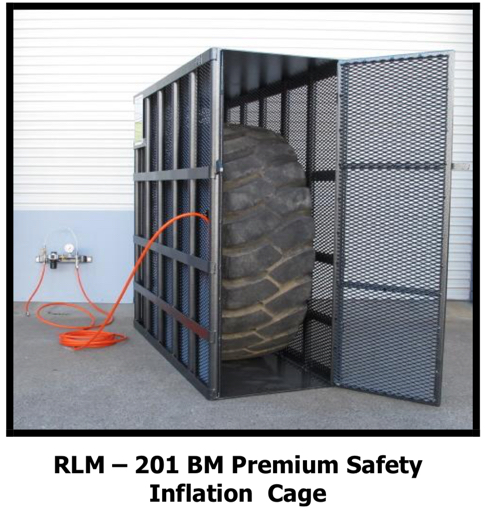 201BM Tyre Inflation Safety Cage Fully Certified