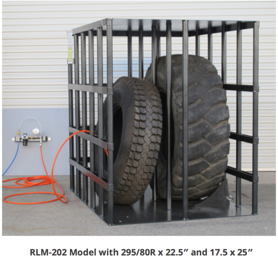 202 Tyre Inflation Safety Cage Fully Certified