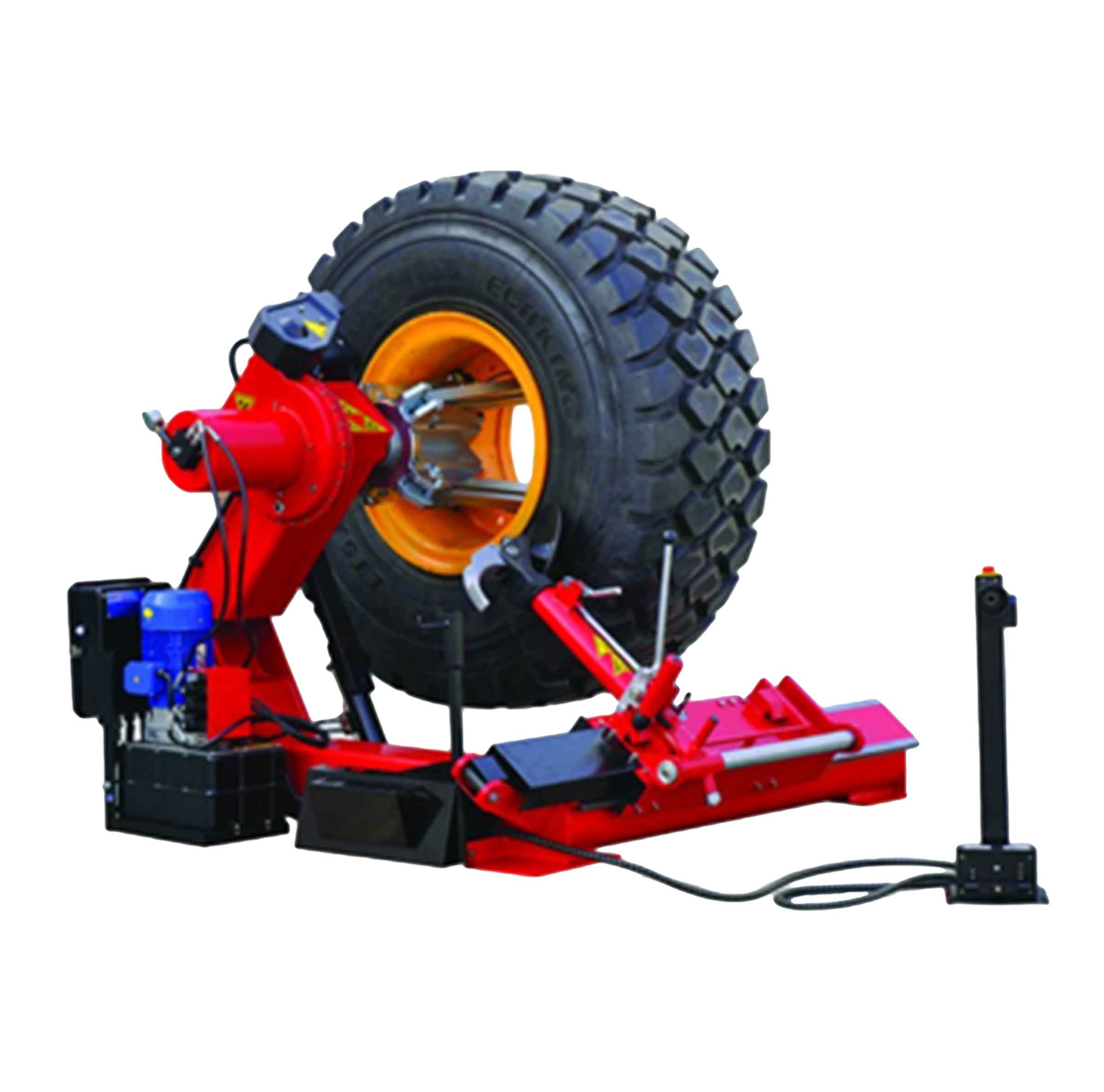 Big Red H/D TRE0598 1PH Tyre Changing Machine. Go On, Do it