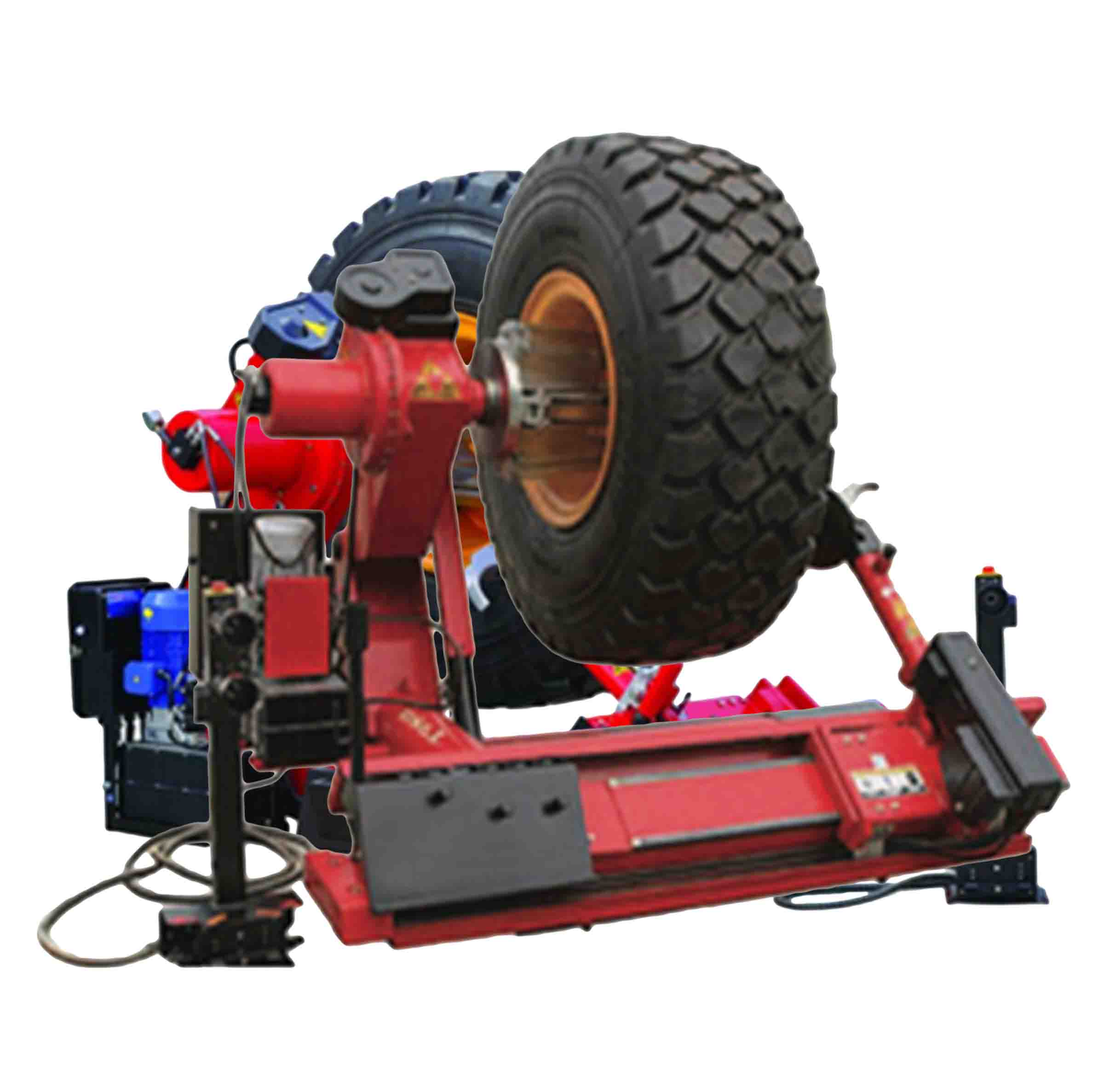 Big Red H/D TRE0980 3PH Tyre Changing Machine. Order Now!