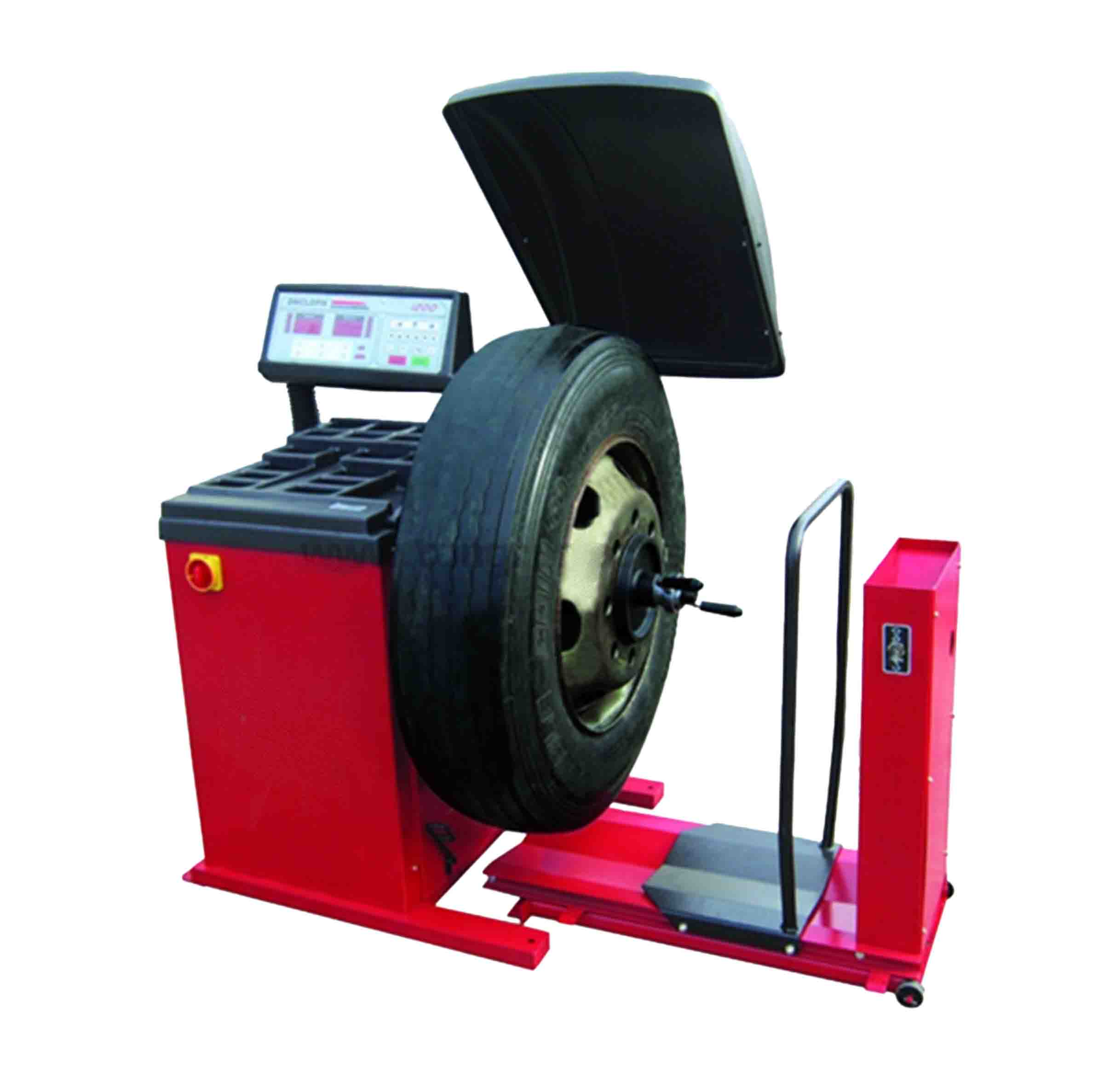 SPECIAL! CURRENT STOCK ONLY Big Red Truck Wheel Balancer
