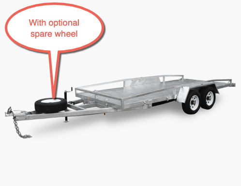 Stonegate 16 x 6 Car Trailer