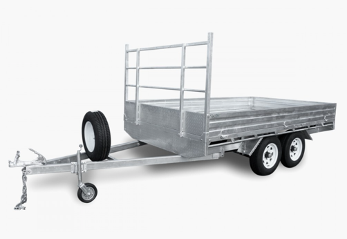 Stonegate 12 x 7 Flat Top Trailer
