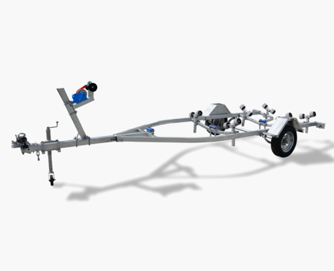4 Metre Wobble Roller Boat Trailer              .