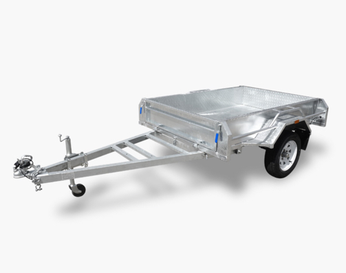 Findlay fully welded 6 x 4 Box Trailer
