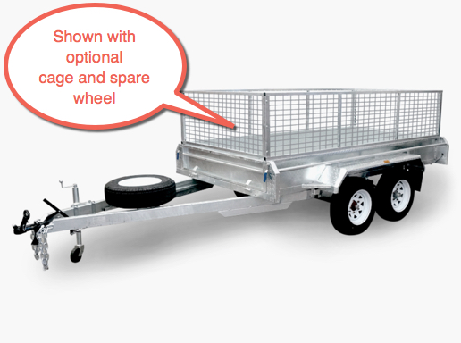 Findlay 8 x 5 tandem trailer