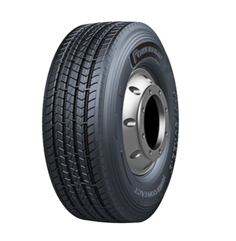 Power Contact 315/80R22.5 Steer Tyre Incl 12oz Balance Beads