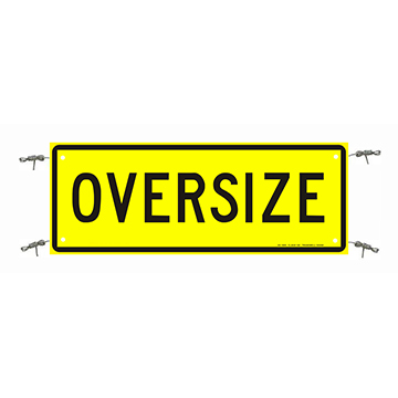 Oversize Sign 1200 x 450 Reflective Banner