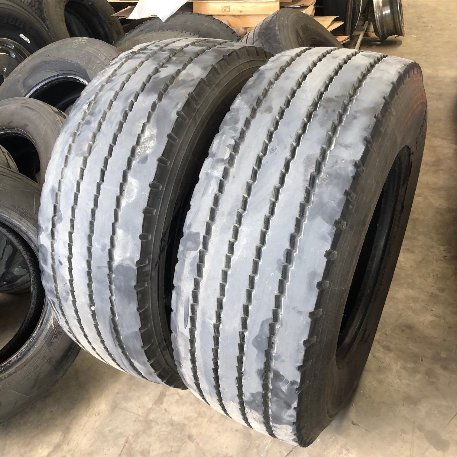 Used Hankook AH15 385/65R22.5 Steer Tyre